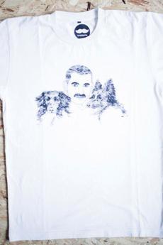 Mustache - Koszulka z Psami