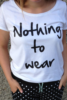 LA PSYCHE - NOTHING TO WEAR - white