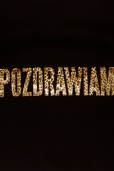 LIFESTAB - POZDRAWIAM LEOPARD PRINT TEE