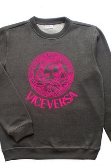 "LIFESTAB - VICE VERSA ""Purple Syrup"" crewneck"