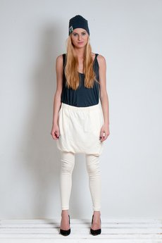 OCEeco - legginso spódnico spodnie cream