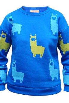 marshmallow - Blue Alpaca