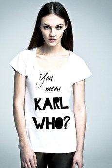 NAOKO - T-shirt NOH8 Karl Who