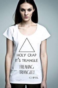 NAOKO - T-shirt NOH8 Holy Crap Triangle