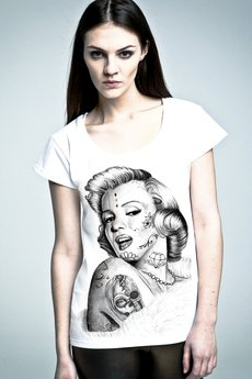 NAOKO - T-shirt NOH8 Marilyn