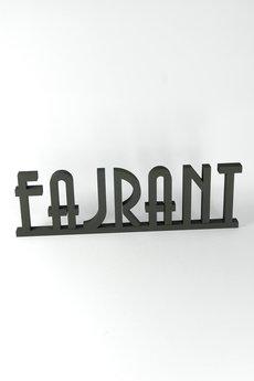 Twórczywo - Fajrant - napis 3D