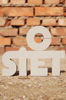 Twórczywo - o siet - napis 3D na ścianę