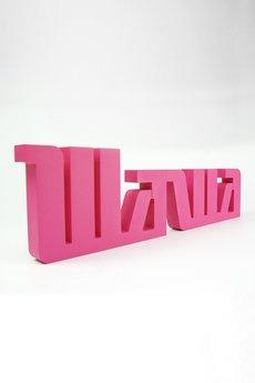 Twórczywo - Wawa - napis 3D na ścianę
