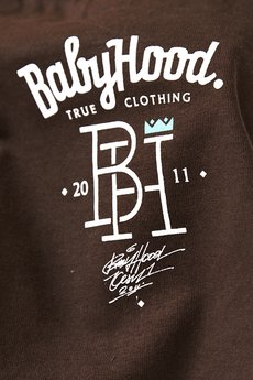 BABYHOOD - T-shirt College Chocolate