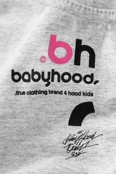 BABYHOOD - T-shirt Aliens Melange-Grey