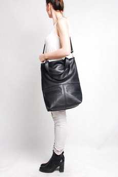 BAGS BY LENKA - TORBA MM10 CZARNA