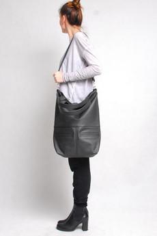 BAGS BY LENKA - TORBA MM10 CIEMNOSZARA
