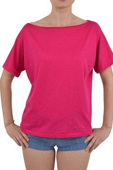 Jan Leśniak - t-shirt magenta