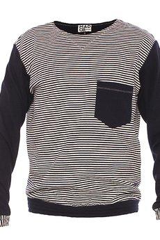MADOX design - Bluza dresowa w paski