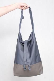 BAGS BY LENKA - TORBA DD10 SZARA