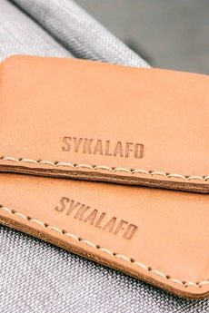 SYKALAFO - Leather Card Holder