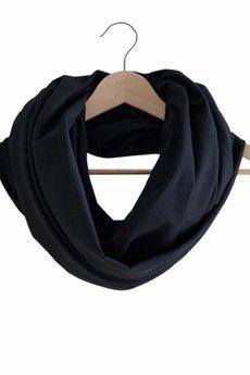 SiScolorful - Czarny szal wielkofunkcyjny