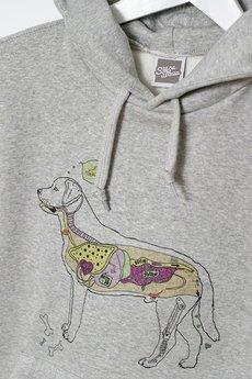 Szara Bluza - kangurka I'm a dog person