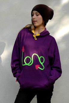 CHAPOOSIE - Chapoosie Purple Hoodie Bloozak