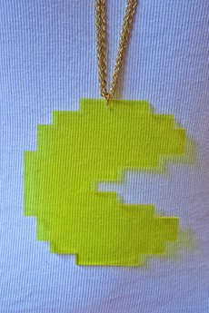 Charlie the Dodo - Naszyjnik Pacman / Pacman Necklace