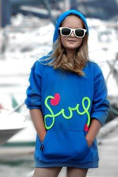 CHAPOOSIE - Chapoosie Hoodie Bloozak Blue Surf