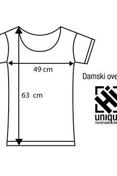Hi - Damski oversize No More Shit