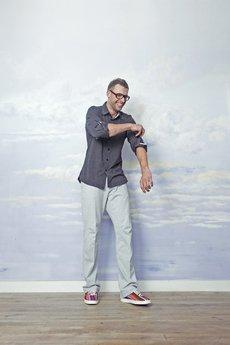 RISK made in warsaw - koszula męska BIKER SHIRT grafit