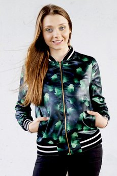 Let's Funky! - Spring Emerald Jacket Woman