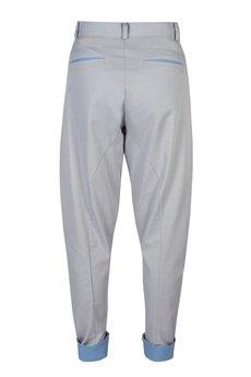 MADOX design - spodnie madoxy szarobłękitne