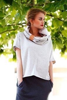 NUBEE - NubeeCiałoZakrywacz- bluza z SzyjoOtulaczem, chwytacz