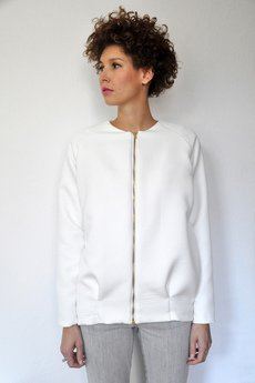 PULPA - Milky gridded jacket