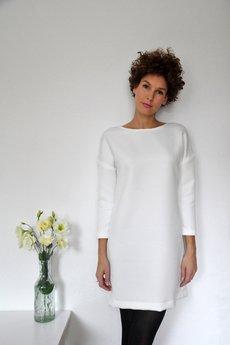 PULPA - Milky gridded dress