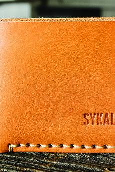 SYKALAFO - Portfel skórzany SKLF