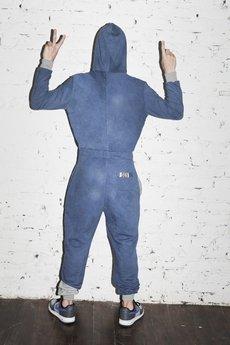 SKIN - Kombinezon niebieski SKIN