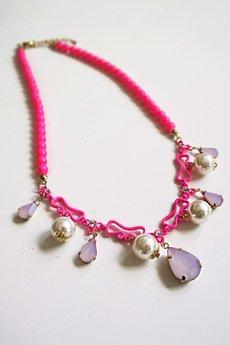 Naszyjnik pink diamond