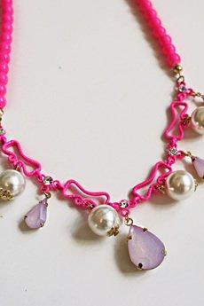 Naszyjnik pink diamond2