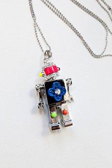 Robot srebrny