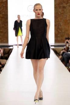CHOMISAWA - Czarna sukienka CHOMISAWA BROOKLYN