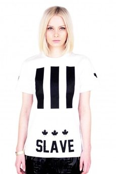 MAJORS - Slave White T-shirt