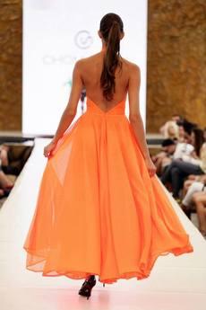 CHOMISAWA - Neonowa suknia CHOMISAWA BROOKLYN