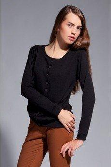 Lanti - Classic cardigan - black - SWE 015