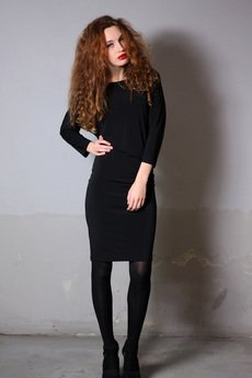 YES TO DRESS by Bożena Karska - AGATHA jersey dress