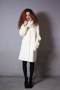 - DOMI wool coat