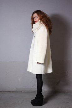 YES TO DRESS by Bożena Karska - DOMI wool coat