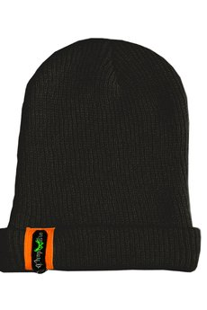CHAPOOSIE - Czapka CHAPOOSIE Black & Orange Beanie