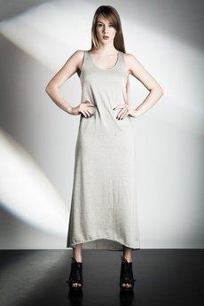 W.I.L.K. - Beige Knitted Dress