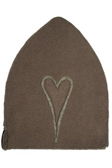 CHAPOOSIE - Czapka CHAPOOSIE MoccaHearts Beanie