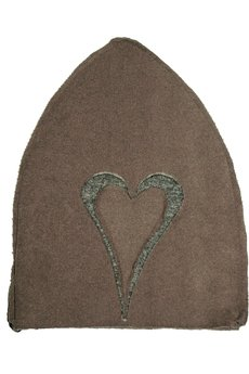 CHAPOOSIE - Czapka CHAPOOSIE 2 MoccaHearts Beanie