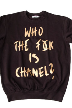 LA PSYCHE - who chanel gold/black