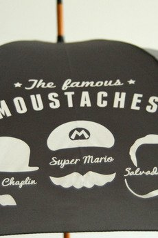 Pluf Pluff - Famous Moustaches (grey)